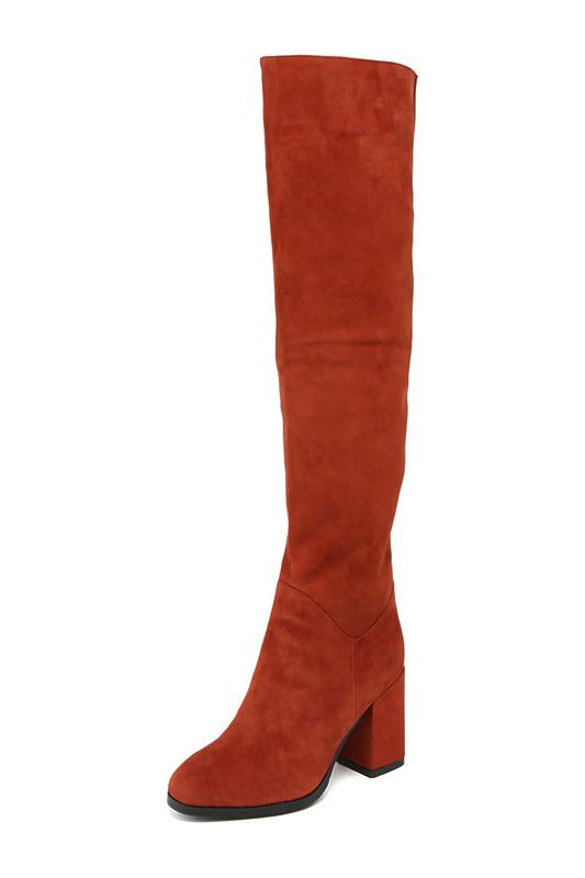 Женские сапоги Vitacci 184637M коричневые 36