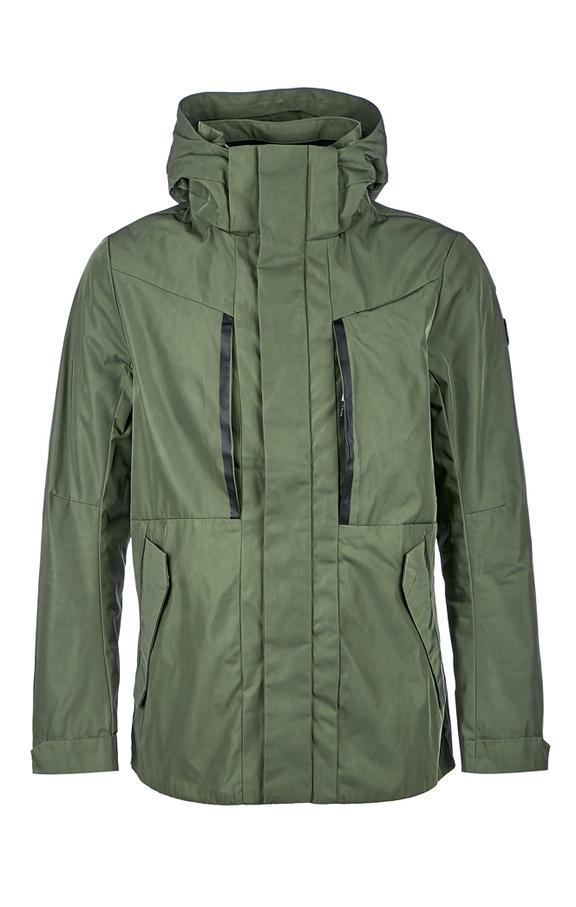 Куртка мужская TOM TAILOR зеленая 56