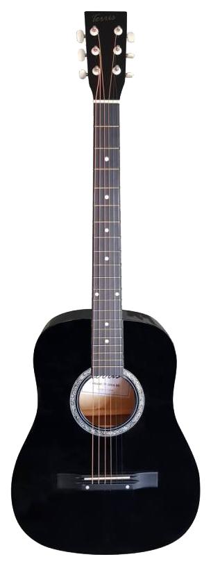 Акустическая гитара TERRIS TF-380A BK фото