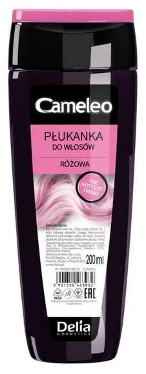 Ополаскиватель Delia Розовый 200 мл