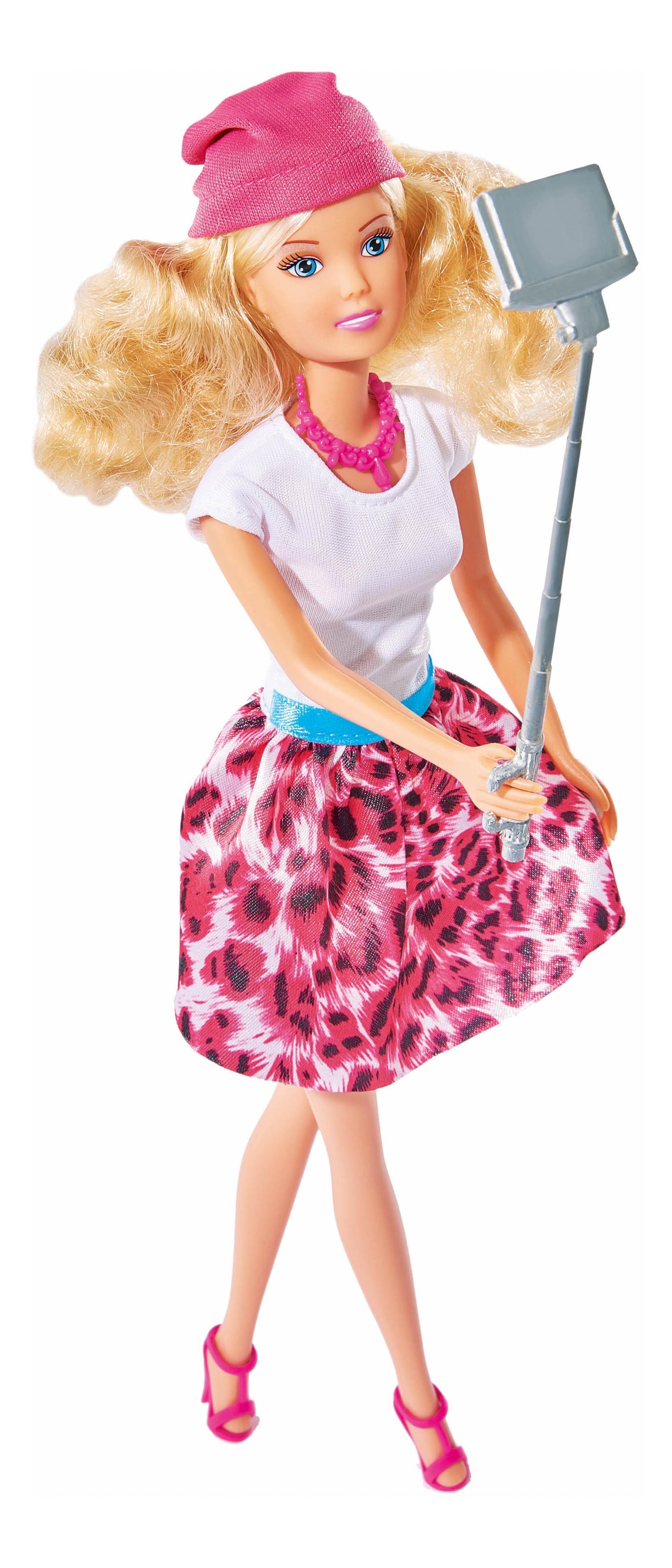 Кукла Simba Штеффи с селфи палкой 29 см