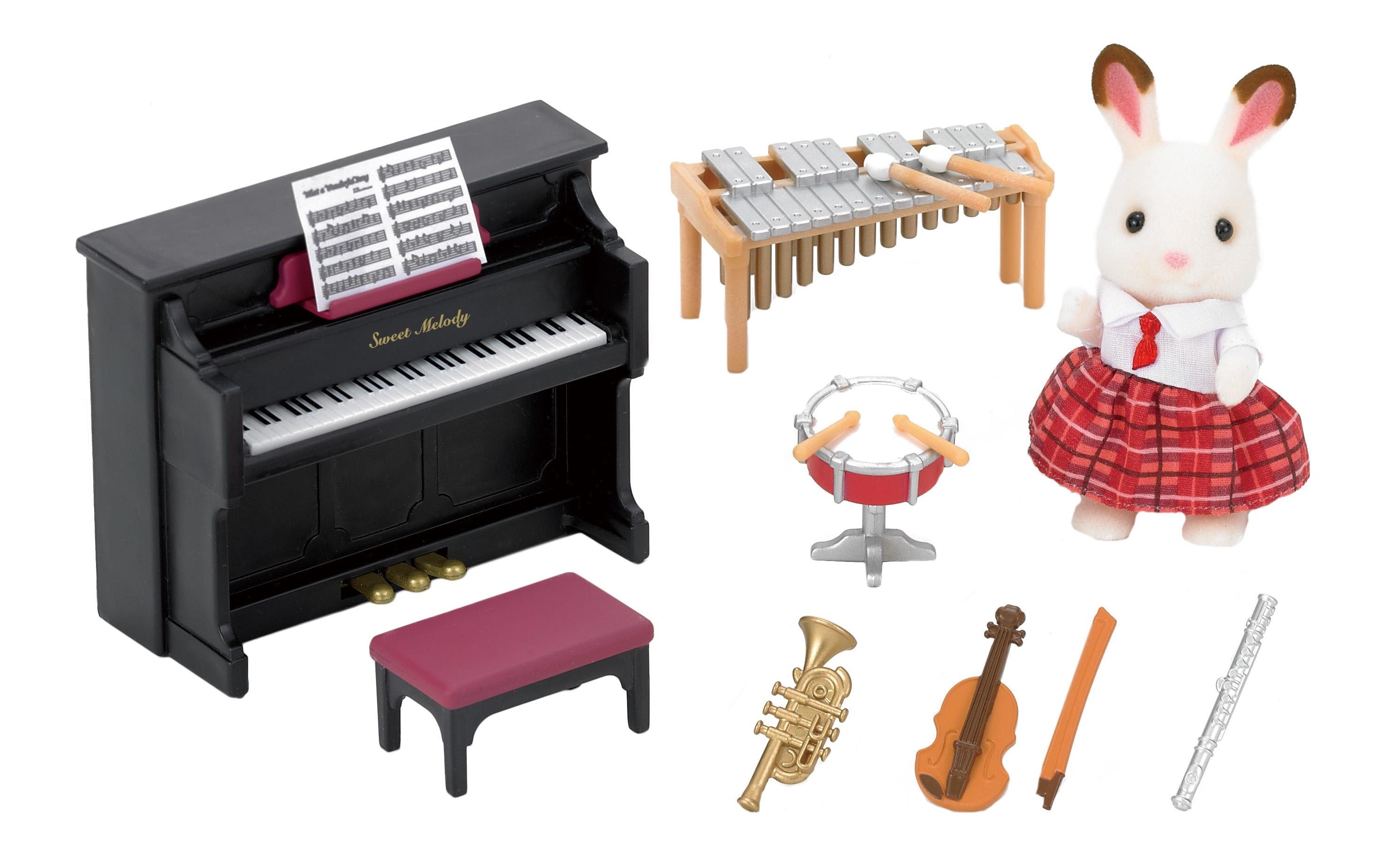 Купить Игровой набор sylvanian families школьный оркестр, Игровые наборы
