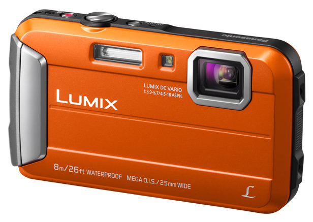 Фотоаппарат цифровой компактный Panasonic Lumix DMC-FT30 Orange фото