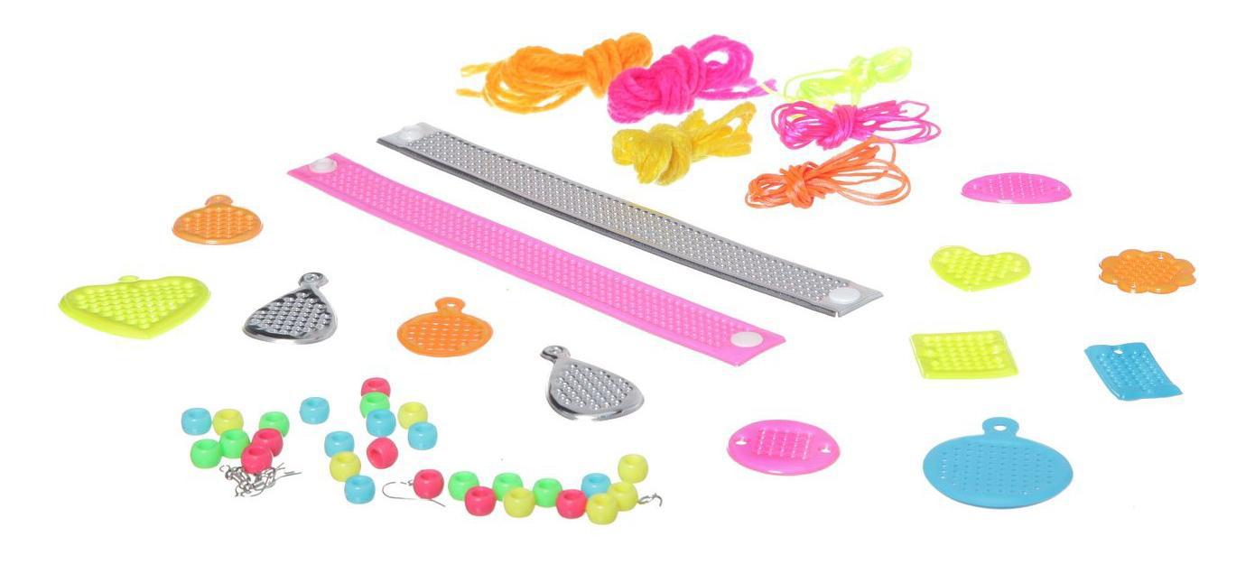 Набор гламурные штучки, Bondibon сделай сам украшения, вышивка, 25,4x25,4 см