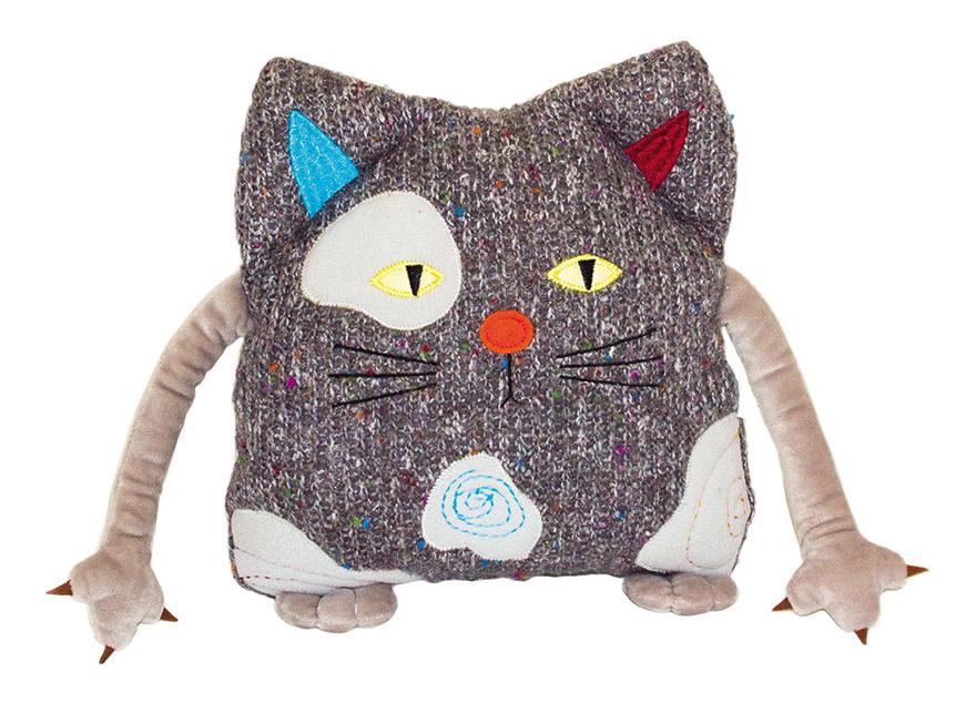 Мягкая игрушка Gulliver Кот Котейка 25 см подушка