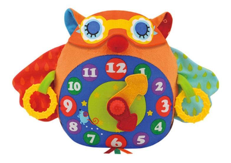 Мягкая развивающая игрушка-часы K'S Kids Сова