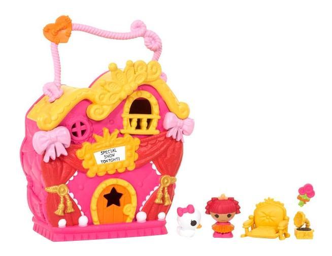Lalaloopsy tinies 534310 лалалупси малютки домик принцессы.