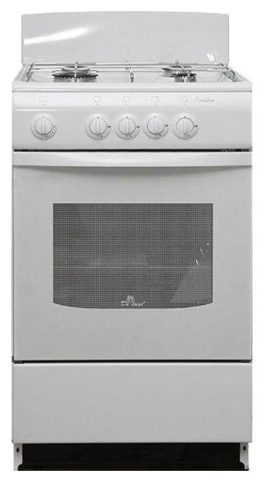 Газовая плита DeLuxe 5040.38г White