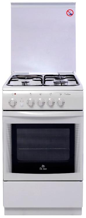 Комбинированная плита DeLuxe 506031.01 гэ White