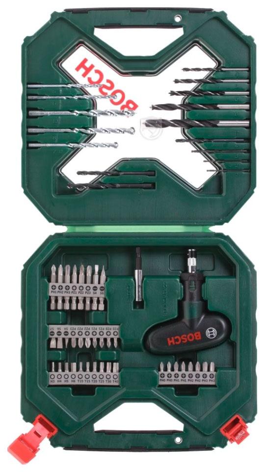 Наборы бит и сверл для дрелей, шуруповертов Bosch X-line 54 2607010610 X-Line Classic