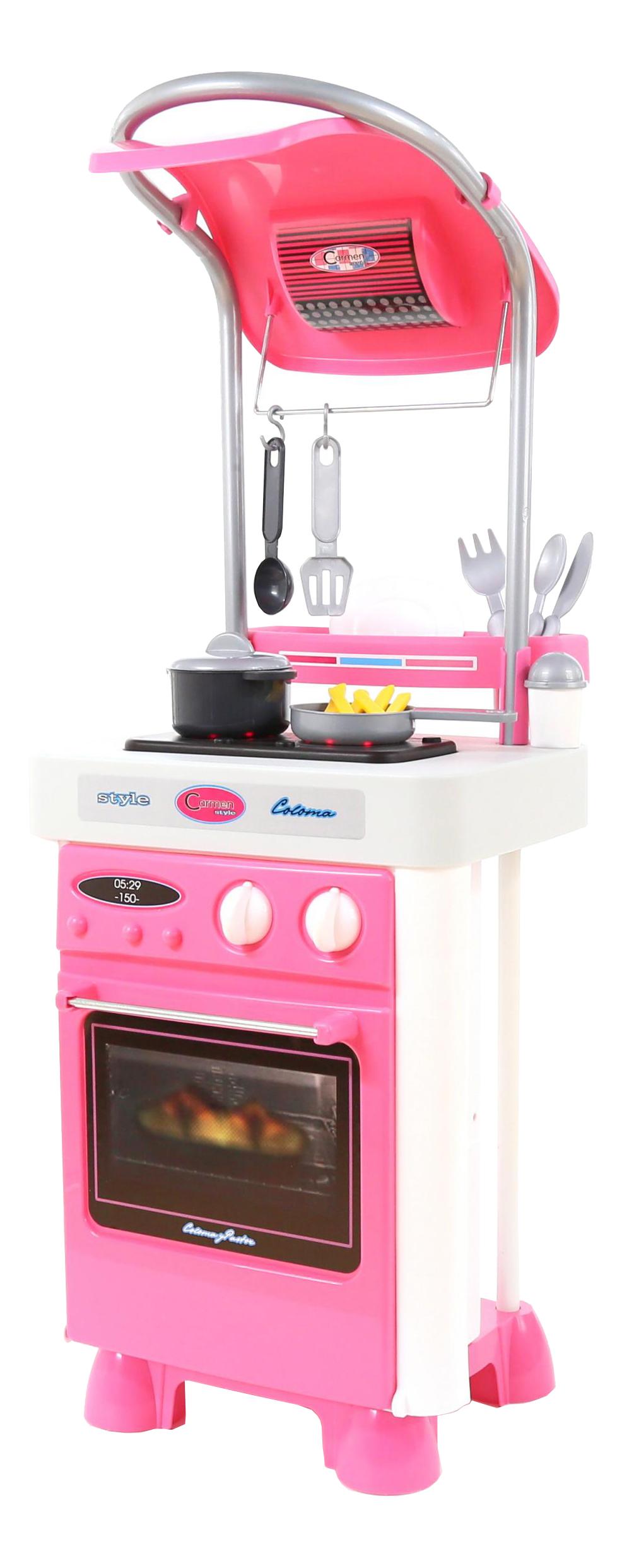Купить Carmen №4, Набор Полесье Carmen с варочной панелью и духовым шкафом, Детская кухня
