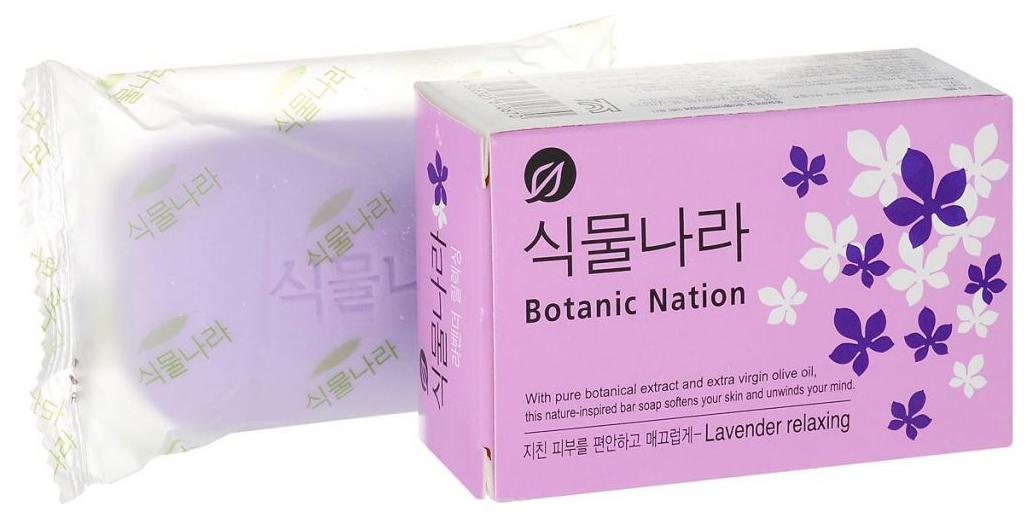 Косметическое мыло CJ Lion Botanical Nation экстракт лаванды