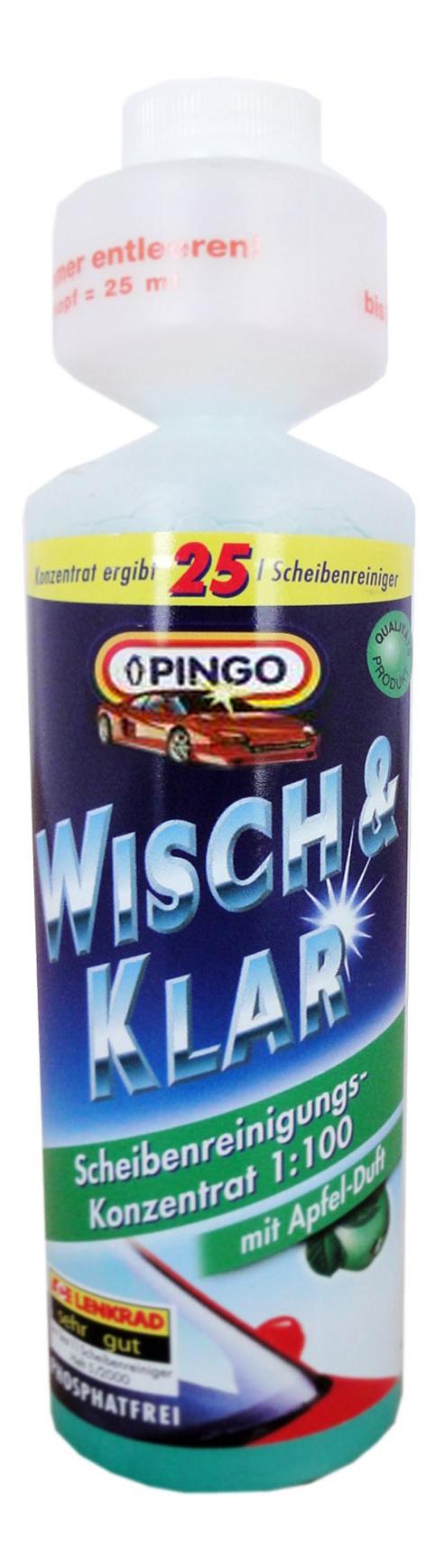 Концентрат жидкости для стеклоомывателя PINGO 0.25л 1:100