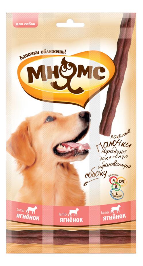 Лакомство для собак Мнямс, лакомые палочки с ягненком, 45г