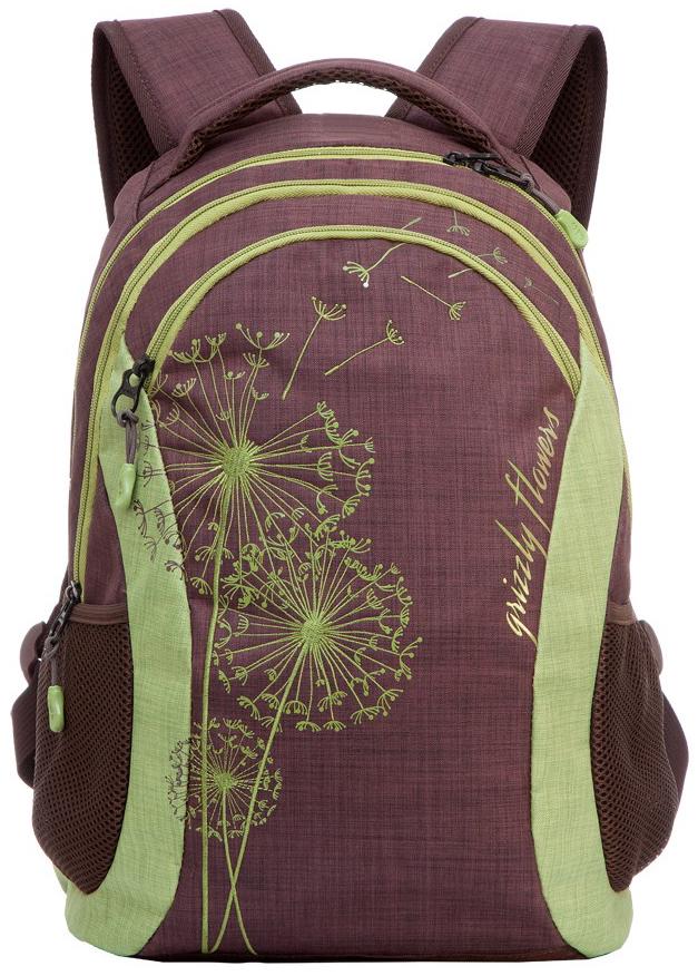 Купить Школьный рюкзак Grizzly Rd-636-1, Школьные рюкзаки и ранцы
