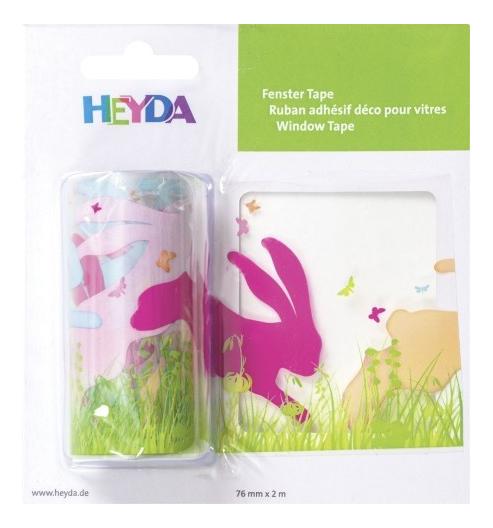 Наклейка декоративная для детской комнаты HEYDA Зайчик
