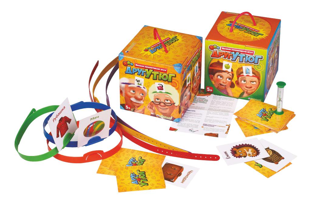Семейная настольная игра Биплант Друг-утюг 10042 фото