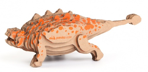 3D пазл PANDAPUZZLE Анкилозавр (АВ 1102)