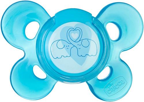 Пустышка силиконовая Chicco Physio Comfort 6-12 мес. голубая (74913210000)