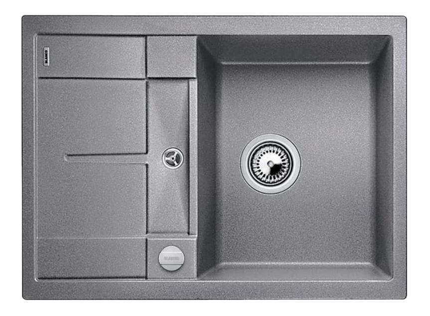 Мойка для кухни гранитная Blanco METRA 45 S Compact 519574 алюметаллик