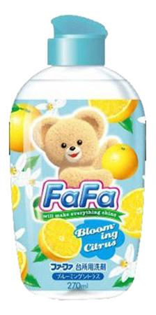 Купить Средство для посуды аромат цитруса 270 мл, Средство для мытья детской посуды FaFa Средство для посуды аромат цитруса 270 мл,