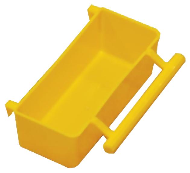 Кормушка для птиц Дарэлл, пластик, желтый