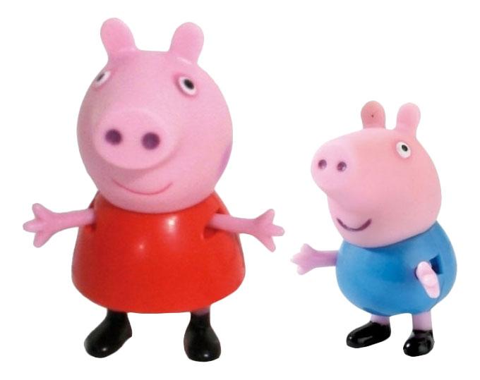 Купить Пеппа и Джордж, Игровой набор Peppa Pig Пеппа и Джордж, Росмэн, Игровые наборы