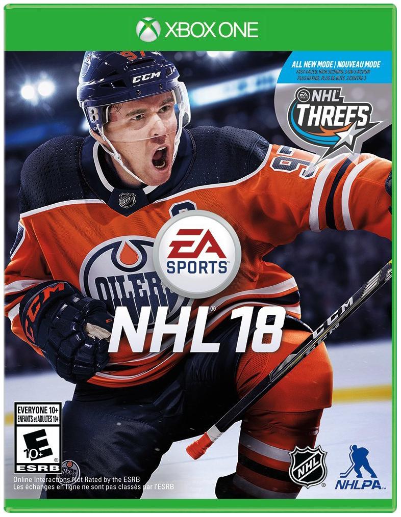 Игра NHL 18 для Xbox One