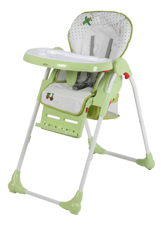 Купить Стульчик для кормления Тополь Selby BH-435 (1) зеленый, ТОПОЛЬ,