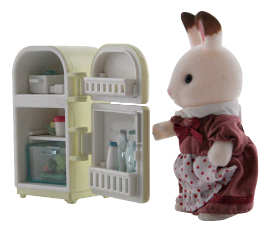 Игровой набор Sylvanian Families Мама кролик и холодильник фото