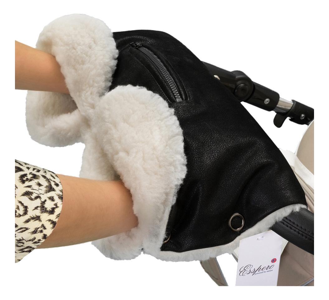 Муфта для рук мамы на детскую коляску Esspero На коляску Stella black