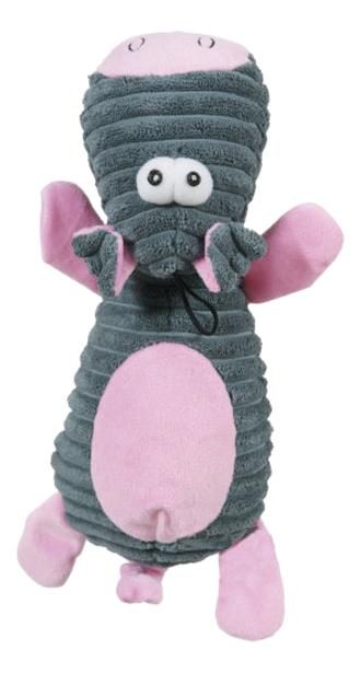 Мягкая игрушка для собак ZOLUX Корова, серый,