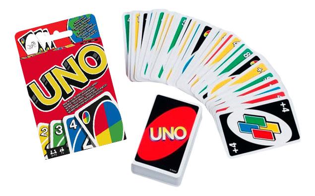 Семейная настольная игра Mattel Games UNO