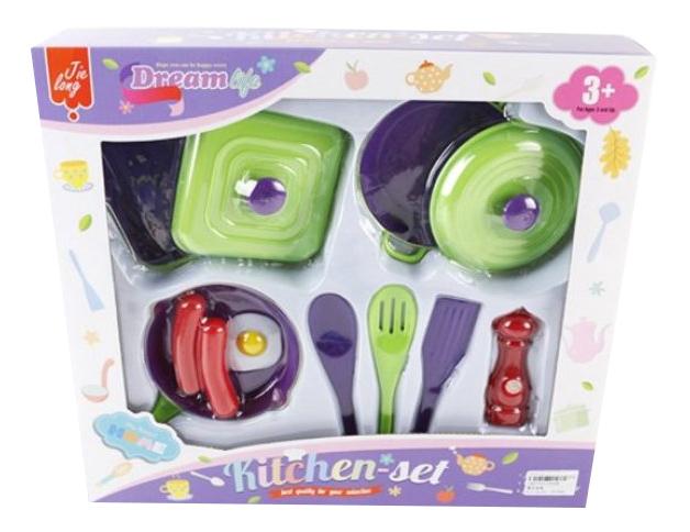Купить Мечта, Набор посуды игрушечный Shantou Gepai 1002B, Игрушечная посуда