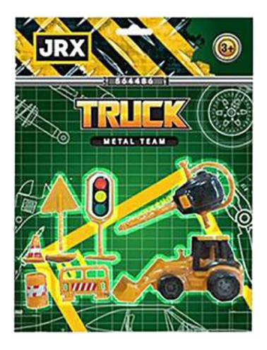 Купить Спецтехника JRX Городской строитель 63920, Строительная техника