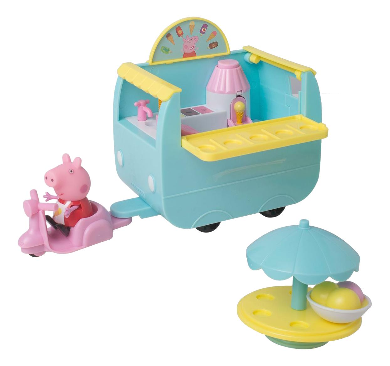 Игровой набор Peppa Pig Палатка с мороженым фото