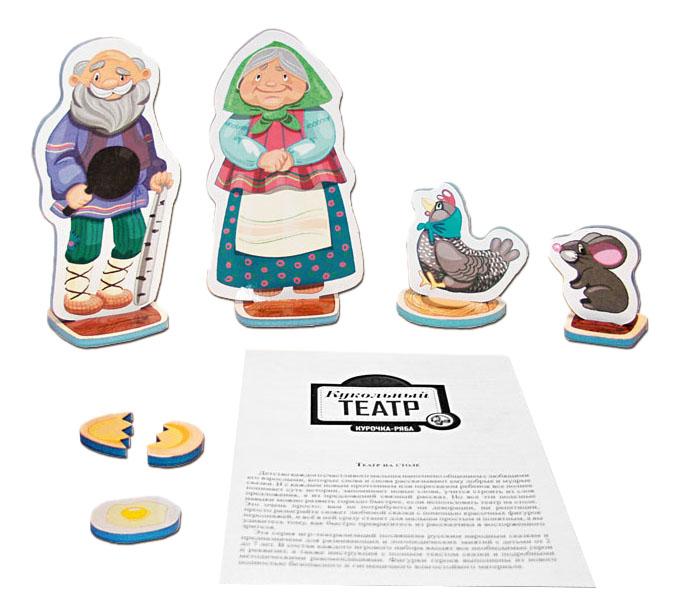 Игровой набор Тридевятое царство Кукольный театр Курочка ряба