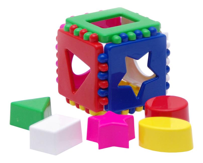 Купить Сортер Karolina Toys Кубик логический малый, Сортеры