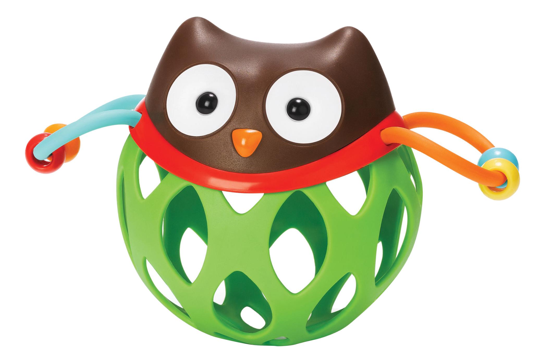 Купить Прорезыватель-погремушка SkipHop Шар сова, Skip Hop, Прорезыватели