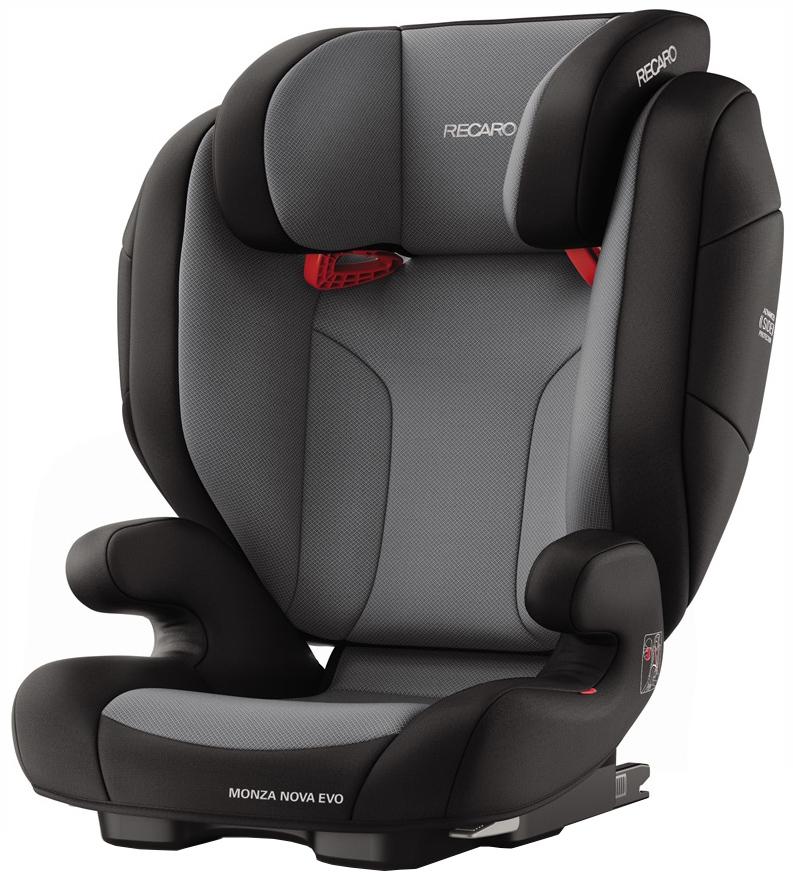 Автокресло RECARO Monza Nova EVO Seatfix группа 2/3, Черный (6159-21502-66) фото