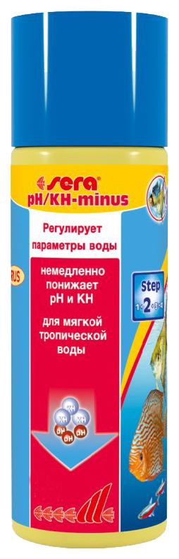 Кондиционер sera pH/KH   MINUS 250мл