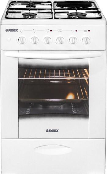 Комбинированная плита Reex CGE 531 eсWh White