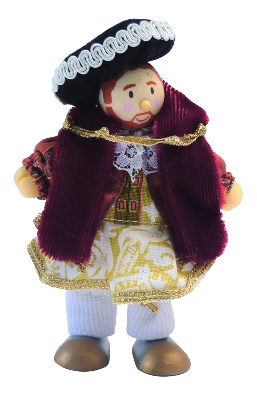 Купить Кукла Король Генрих VIII Le Toy Van BK991, Классические куклы