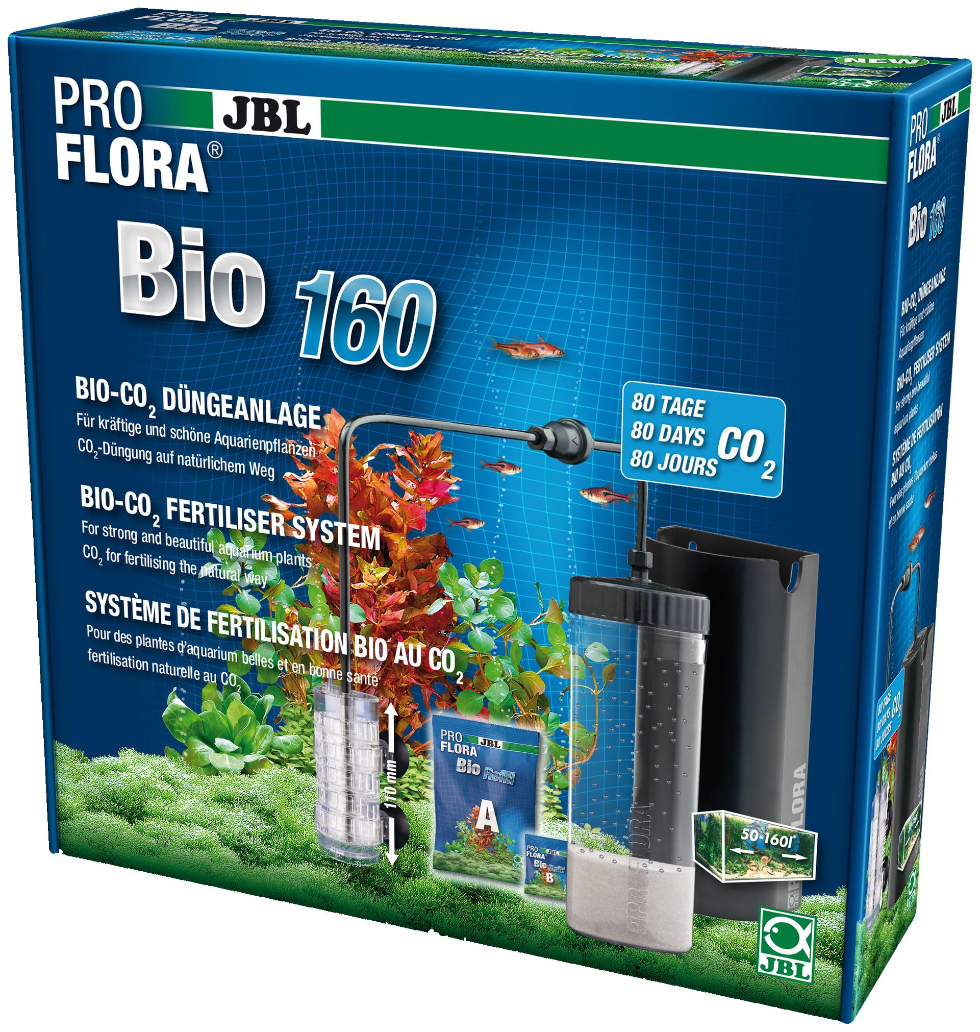 Система CO2 для аквариума JBL ProFlora bio160