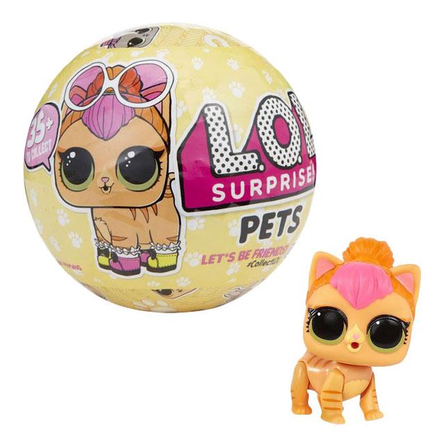 Купить 3-я серия Питомец Pets, Кукла-сюрприз L.O.L. в шарике 3-я серия питомец Pets, LOL Surprise, Классические куклы