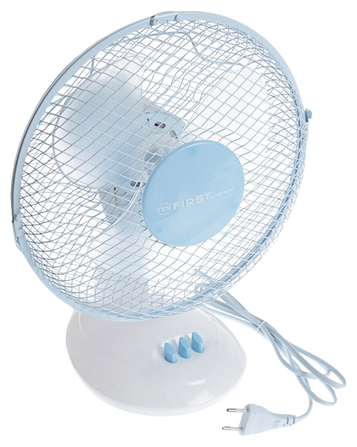 Вентилятор настольный First FA 5550 BU white/blue