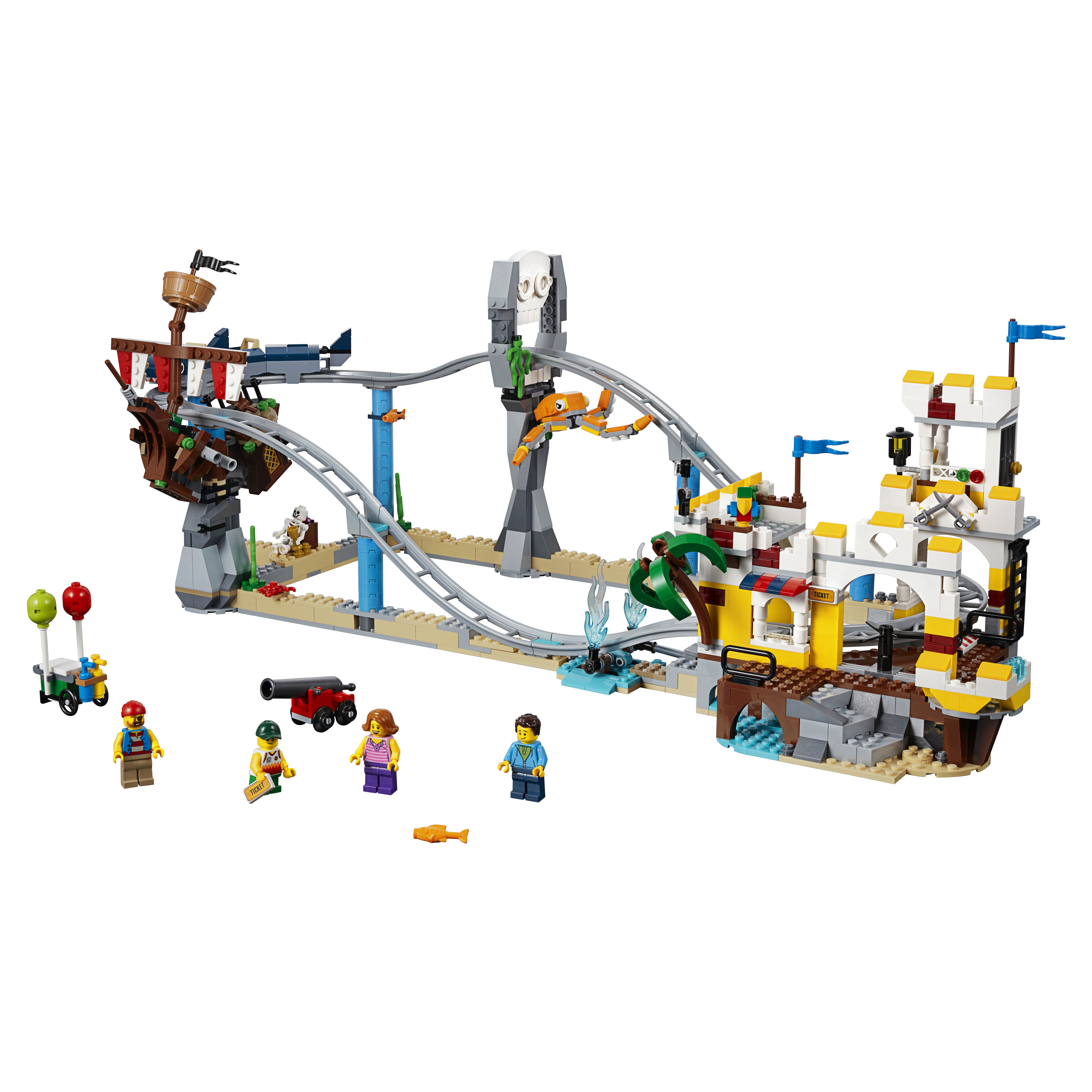 Конструктор LEGO Аттракцион Пиратские горки 31084 фото