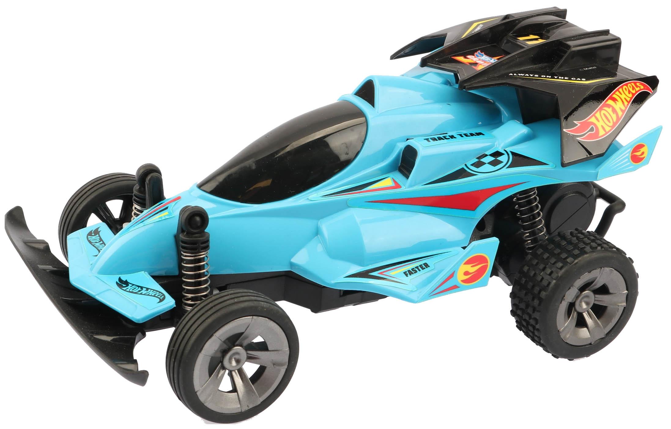 Радиоуправляемая машинка Mattel Т10980 Hot Wheels Багги cо светом и звуком