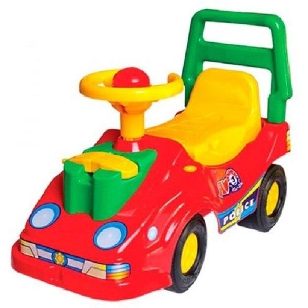 Купить Большая, Технок машина-каталка с телефоном красная, ТехноК, Каталки детские