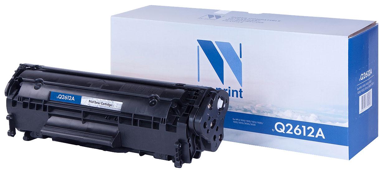 Картридж для лазерного принтера NV Print Q2612A, черный NV-Q2612A